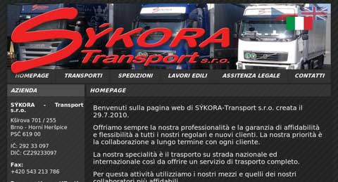 SÝKORA Transport s.r.o.